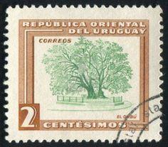 URUGUAY - CIRCA 1954
