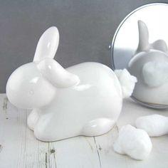 Bunny Tail Cotton Ball Dispenser