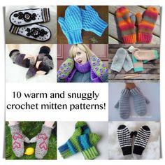 Crochet mitten pattern for roundup crochet mitten patterns
