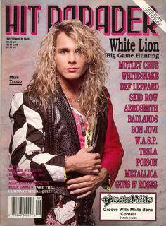 Mike Tramp - Hit Parader Magazine