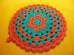 Potholder from Crochet with Raymond pattern. (weird Ravelry link)