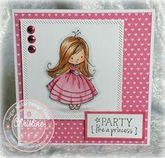 Sugar Nellie Princess - Pink - Girlie Birthday