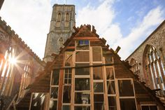 Theaster Gates's new installation, Sanctum, opens inside the shell of a Bristol church.