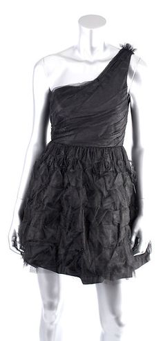 ALICE + OLIVIA TESSIE TULLE ONE SHOULDER PARTY DRESS Size 2  Retail: $440  PlushAttire.Com Price: $145.90  67% OFF RETAIL!  #fashiondeals
