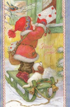 New double Christmas card by Cracia Arias/Juan Vernet