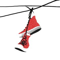 converse, Bloody Dairy by Min Liu, #gif illustration #animation