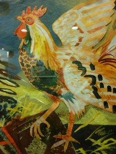 Mark Hearld rooster | Flickr - Photo Sharing!