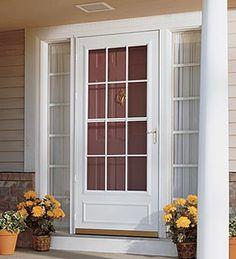 Menards Screen Doors. Front Door replacement  Menards http www menards com main The midview white storm door adds traditional detailing to the