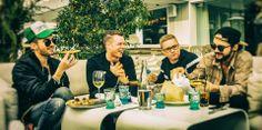 A Banda alemã Tokio Hotel, reunida novamente