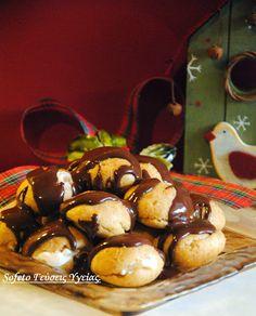 Προφιτερόλ αλά Sofeto, χωρίς ζάχαρη και βούτυρο!!! Συνταγές για διαβητικούς Sofeto Γεύσεις Υγείας. Goodies, Pudding, Fruit, Sweet, Desserts, Food, Sweet Like Candy, Candy, Tailgate Desserts