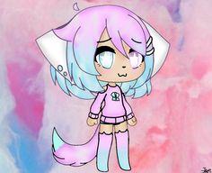 Kawaii Drawings, Cute Drawings, Cute Characters, Anime Characters, Yandere Girl, Overlays Tumblr, Kirito Asuna, Cute Anime Chibi, Chibi Girl