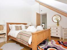 King-size bedroom with en-suite bathroom Northumberland National Park, Alnwick Castle, Wood Burner, King Size, Relax, Lounge, Tapestry, Cottage, Bathroom