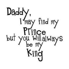 "Reminded me of my girls they call their daddy ""daddy king"" & they're his princesses ❤☺"