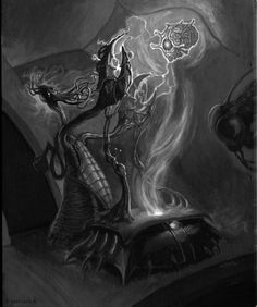 Geek Art Gallery: Illustrations: Lovecraft Madness