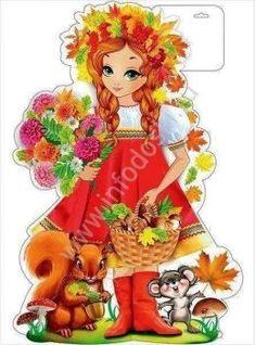 A 70 pieces jigsaw puzzle from Jigidi Russian Folk Art, Ukrainian Art, Fairy Princesses, Maneki Neko, Autumn Activities, Fairy Dolls, Animals For Kids, Cute Drawings, Flower Art