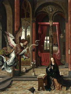 Jan de Beer - Annunciation (c.1525)