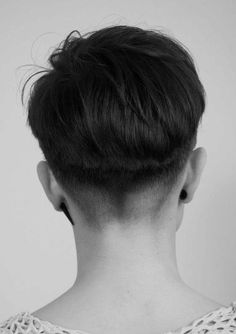 "womensshorthairstyles: "" planetbuzzedgirls: "" karenanders23 by mcgrath5 on Flickr. karenanders23 "" Perfect nape cut """