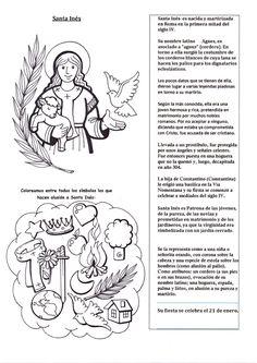 El Rincón de las Melli: Breve historia de Santa Inés con juego