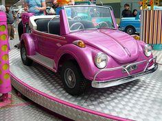 Volkswagen Beetle Pink Ride,