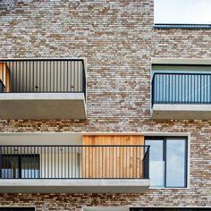 apartments WATERKLUISKAAI | sint - amandsberg - Projects - CAAN Architecten / Gent