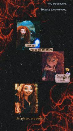 Brave Wallpaper, Wallpaper Doodle, Nature Wallpaper, Cartoon Wallpaper, Brave Disney, Merida Disney, Brave Merida, Funny Disney Pictures, Disney Princess Pictures