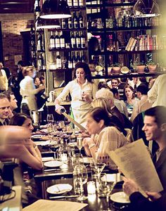 Locanda Verde restaurant. Good food, hype, and great decor... In Tribeca, Manhattan