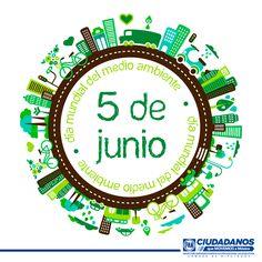 ¡Hoy es el día mundial del medio ambiente! ¿Qué estás haciendo para cuidar nuestro entorno? Actuemos hoy.