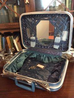 vintage luggage ... DIPLOMAT deluxe never by LandLockedCottage