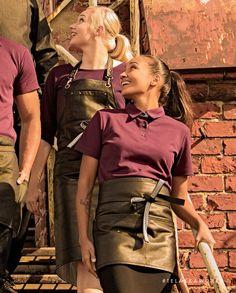STRÖMSÖ Polo Shirt Workwear Fashion, Work Wear, Leather Skirt, Polo Shirt, Skirts, Work Clothes, Leather Skirts, Polo, Skirt