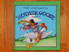 Mother Goose Children's Cloth Book by CraftingByTheWayside on Etsy $16.00 #craftshout0205