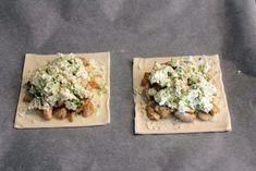 Kip Boursin Pakketje: Bladerdeeg met kip en roomkaas