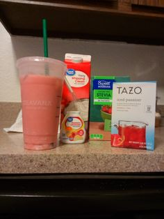 Homemade Keto Starbucks Pink Drink! So easy and way better!