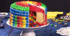 Überraschungskuchen mit Füllung ist ein Kuchen-Rezept, das jede Geburtstagsparty zum Kochen bringt!
