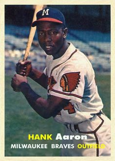 1957 Topps Hank Aaron  (Correct Version)
