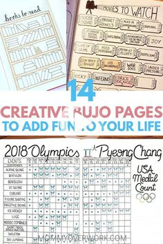 Fun bullet journal layout pages to set up in your bullet journal. find inspiration to keep up with hobbies with exciting movies to watch list tracker,