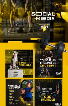 Social Media - Crossfit 03 on Behance Cultural media is considered the buzz-phrase in the Social Media Poster, Social Media Art, Social Media Analytics, Social Media Influencer, Social Media Template, Social Media Graphics, Gym Design, Social Media Design, Photoshop