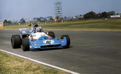 Argentine GP 1972 Matra V12 - DNS Gearbox broke on warm up lap. Just Chris's luck....