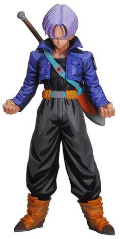 Figura Trunks del futuro. Carga su espada en la espalda. Figura de lujo!!