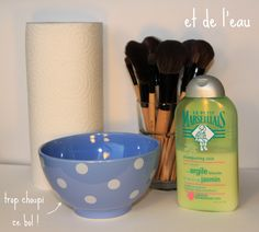 Les petites aventures de Julia: [Astuces] Comment nettoyer ses pinceaux de maquillage ?