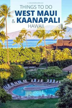 Great Things to Do in West Maui and Kaanapali Hawaii. Where to relax, where to shop, where to find culture, where to eat, and where to stay. #travel #Maui #Hawaii #USA #guide