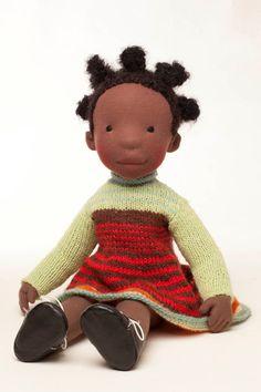 Robbin  Handmade cloth doll  by AldegondeCeelen