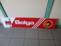 Reclame bord - Belga (sigarettenmerk) - jaren 90 vorige eeuw