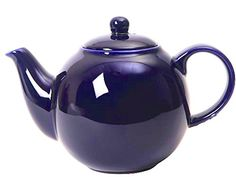 London Pottery Globe Teapot 6 Cup Capacity Cobalt Blue