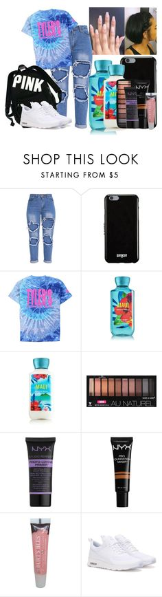 """Untitled #1250"" by xo-weekend on Polyvore featuring Givenchy, Wet n Wild, NYX, Burt's Bees, Victoria's Secret and NIKE"
