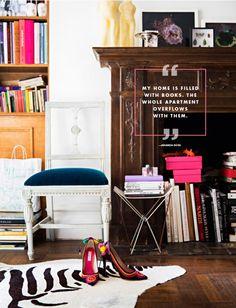 amanda ross: cool, cosmopolitan manhattan apartment