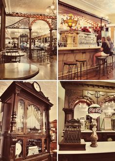 "Zaharakos Ice Cream Parlor - Amazing ""old world"" decor, and great ice cream.  Try the ""Cinnamon Coke""."
