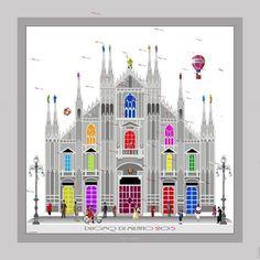 Il nostro #Duomo visto da Alfredo Pieramati #milanodavedere Milano da Vedere
