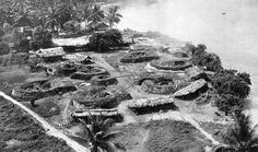 Jap flak positions, Wewak, New Guinea 1944 - Pin it by GUSTAVO BUESO-JACQUIER