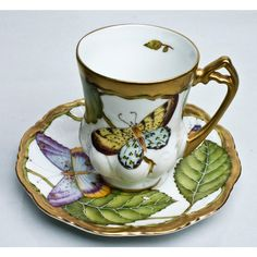 Anna Weatherley Summer Morning Demi Cup & Saucer