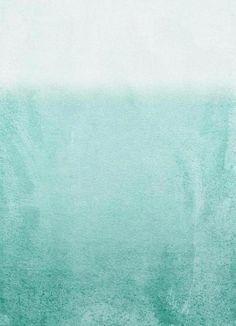 Fading Aqua als Leinwandbild von Monika Strigel | JUNIQE